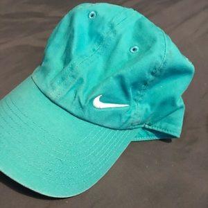Blue nike baseball cap
